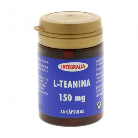 L - TEANINA 150 mg. INTEGRALIA 30 cápsulas