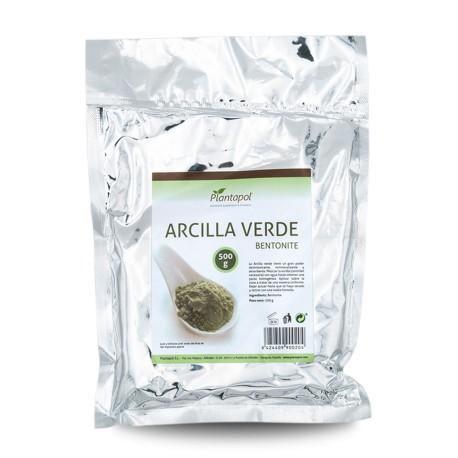 ARCILLA VERDE PLANTAPOL 500 gr.
