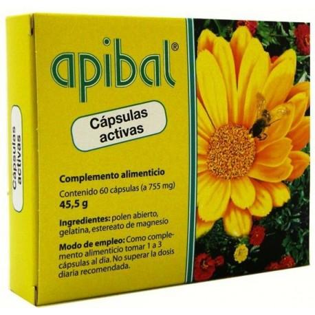 APIBAL POLEN ABIERTO MADAL BAL 60 cápsulas