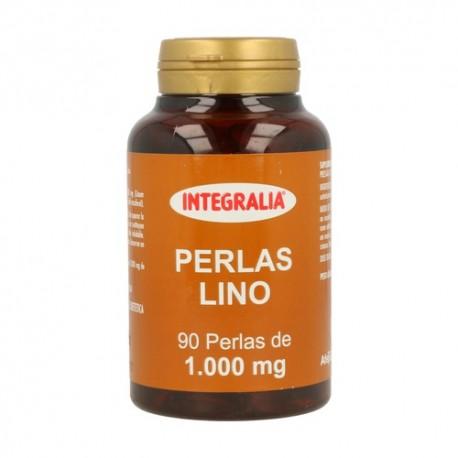 ACEITE DE SEMILLAS DE LINO. INTEGRALIA. 90 perlas de 1000 mg.