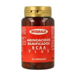 Aminoácidos Ramificados Bcaa Plus Integralia 90 cápsulas