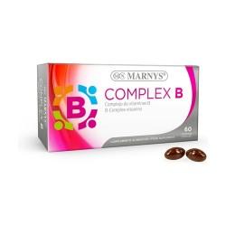 Vitamina B Complex Marnys 60 perlas de 505 mg.