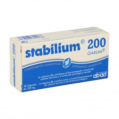 STABILIUM 200 GARUM ABAD 30 cápsulas de 350 mg.