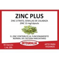 Zinc Plus Integralia 60 cápsulas